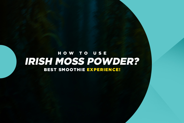 How to use irish moss powder